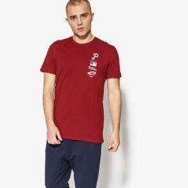 New Era Tričko Ss Mlb Logo Tower Tee Philadelphia Muži Oblečenie Tričká 11517768 Muži Oblečenie Tričká Bordová US L