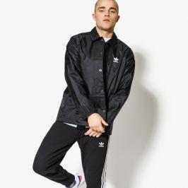 Adidas Bunda Tref Coach-Jkt Muži Oblečenie Jesenné Bundy Cw1313 Muži Oblečenie Jesenné Bundy Čierna US L
