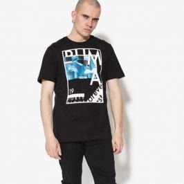 Puma Tričko Ss Photoprint Tee Muži Oblečenie Tričká 85083251 Muži Oblečenie Tričká Čierna US L