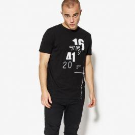 Confront Tričko Ss Number Muži Oblečenie Tričká Cf18Tsm67001 Muži Oblečenie Tričká Čierna US M