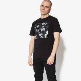 Confront Tričko Ss Ansie Muži Oblečenie Tričká Cf18Tsm17001 Muži Oblečenie Tričká Čierna US XL