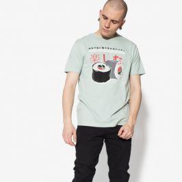 Confront Tričko Ss Sushi Muži Oblečenie Tričká Cf18Tsm15001 Muži Oblečenie Tričká Zelená US L