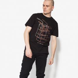 Confront Tričko Ss Juniper Muži Oblečenie Tričká Cf18Tsm16001 Muži Oblečenie Tričká Čierna US M