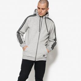 Adidas Mikina Curated Fz Muži Oblečenie Mikiny Cw2528 Muži Oblečenie Mikiny Sivá US M