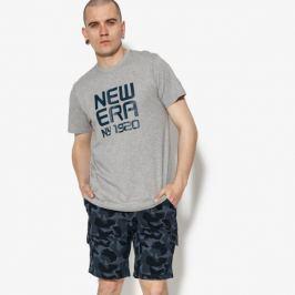 New Era Tričko Ss Classic Logo Tee Ne Lgh Muži Oblečenie Tričká 11593833 Muži Oblečenie Tričká Sivá US S