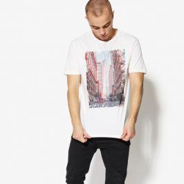 Confront Tričko Ss City Muži Oblečenie Tričká Cf18Tsm76002 Muži Oblečenie Tričká Biela US S