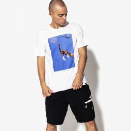 Nike T-Shirt Ss M Jsw Tee Si P Muži Oblečenie Tričká 915934-100 Muži Oblečenie Tričká Biela US M