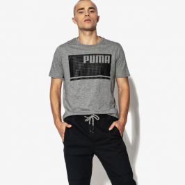 Puma Tričko Ss Summer Rebel Tee Muži Oblečenie Tričká 85010103 Muži Oblečenie Tričká Sivá US S