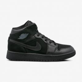 Nike Air Jordan 1 Mid Bg Deti Obuv Tenisky 554725-050 Deti Obuv Tenisky Čierna US 4,5Y