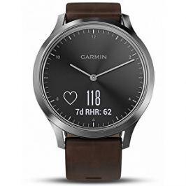 Garmin Vivomove Optic Premium chytré hodinky (vel. L) stříbrné