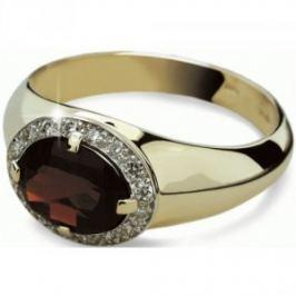 Danfil Luxusné zlatý prsteň DF1892z 49 mm