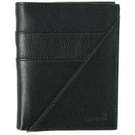 Lagen Pánska čierna kožená peňaženka Black LM-9176