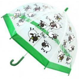 Blooming Brollies Detský priehľadný palicový dáždnik Buggz Kids Stuff Sheep BUSH