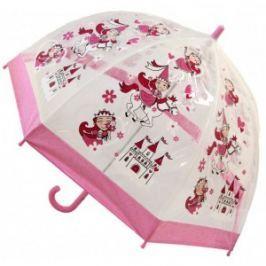 Blooming Brollies Detský priehľadný palicový dáždnik Buggz Kids Stuff Princess BUPRIN