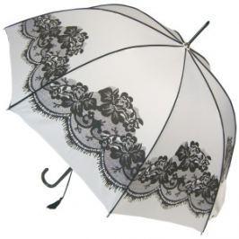 Blooming Brollies Dámsky palicový plne automatický dáždnik White Vintage BCSVWH