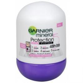 Garnier Minerálne antiperspirant 5 Pro Tection Cotton Fresh 48h Roll-on pre ženy 50 ml