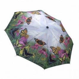 Blooming Brollies Dámsky skladací plne automatický dáždnik The Butterfly Mountain GBFBM