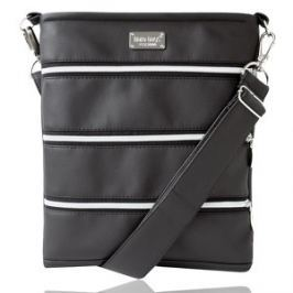 Dara bags Crossbody kabelka Dariana middle No. 188 Deep Black Matt