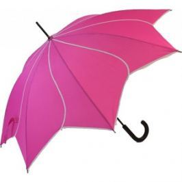 Blooming Brollies Dámsky palicový vystreľovací dáždnik Swirl Pink EDSSWP