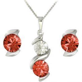 MHM Súprava šperkov Sisi Siam 34200