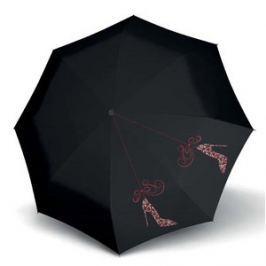 Doppler Dámsky skladací plne automatický dáždnik Fiber Magic Shoemania 746165SM