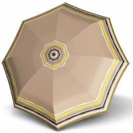 Doppler Dámsky mini skladací mechanický dáždnik Fiber Lolita Mini Raja - béžový 710165RA03