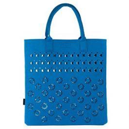 Art of Polo Dámska filcová taška Shopping Bag - royal blue tr15113 .4