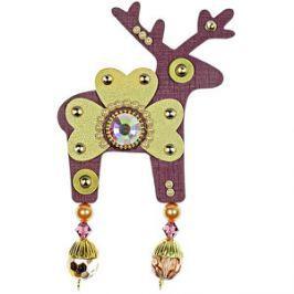 Deers Veľký fialovo-zlatý Jelínek Marvis