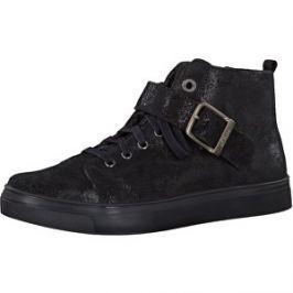 s.Oliver Dámske členkové topánky Black Comb 5-5-25215-27-098 39