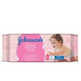 JOHNSON`S Baby Baby Gentle cleansing vlhčené obrúsky 56 ks