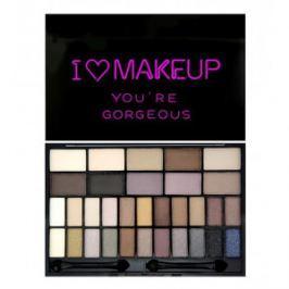 Makeup Revolution Tematická paletka očných tieňov You`Re Gorgeous (Eye Shadow palette) 14 g