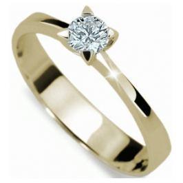 e4cd3bc40 Detail zboží · Danfil Luxusné zásnubný prsteň s diamantom DF1895z 49 mm