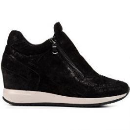 GEOX Elegantné dámske topánky Nydame Black D620QA-000MA-C9999 40
