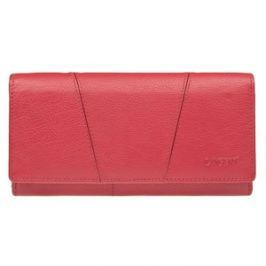 Lagen Dámska červená kožená peňaženka RedPWL-388/L