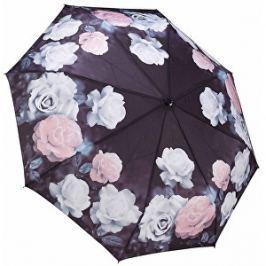 Blooming Brollies Dámsky skladací plne automatický dáždnik Galleria Vintage Rose GFFVR