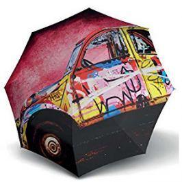 Doppler Dámsky skladací mechanický dáždnik Modern Art Mini 7085701