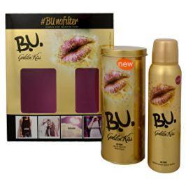 B.U. Golden Kiss - EDT 50 ml + dezodorant v spreji 150 ml