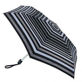 Fulton Dámsky skladací dáždnik Tiny Glitter Stripe L501