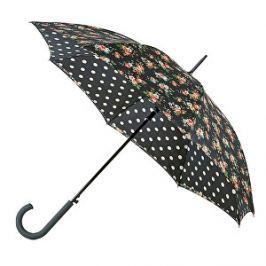 Fulton Dámsky palicový dáždnik Bloomsbury 2 Kingswood Rose Charcoal L778