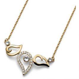 Oliver Weber Pozlátený náhrdelník Working Travel 11676G