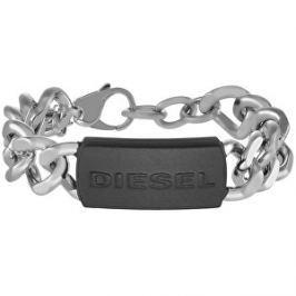 Diesel Masívny oceľový náramok pre mužov DX1010040