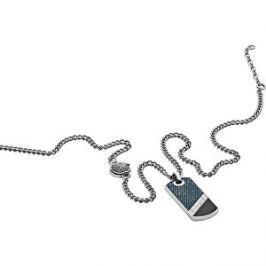 Diesel Pánsky náhrdelník so známkou DX1030040