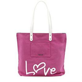 Tamaris Elegantná kabelka Sole Shopping Bag 2225171-590 Rose comb.