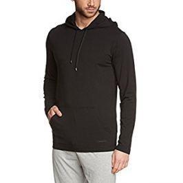 Calvin Klein Pánska mikina Cotton Modal L / S Hood y NM1078A-001 Black L