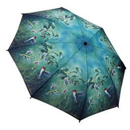 Blooming Brollies Dámsky skladací plne automatický dáždnik Humming Birds GBFHB