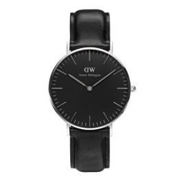 Daniel Wellington Classic Black Sheffield Silver H25-866