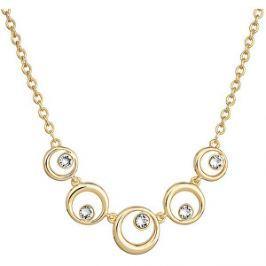 Evolution Group Elegantný pozlátený náhrdelník Shine Luxus 52013.1