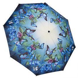 Blooming Brollies Dámsky skladací plne automatický dáždnik Bluebells GFFBB