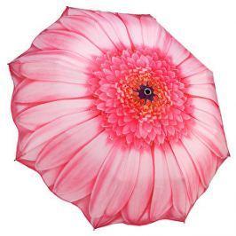 Blooming Brollies Dámsky skladací plne automatický dáždnik Pink Daisy GFFPID