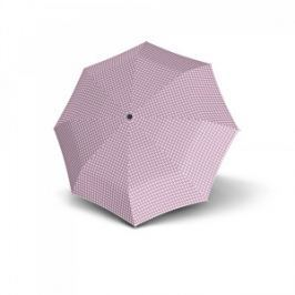 Doppler Dámsky skladací dáždnik Havanna Palma - ružový s bodkami 722365PL01